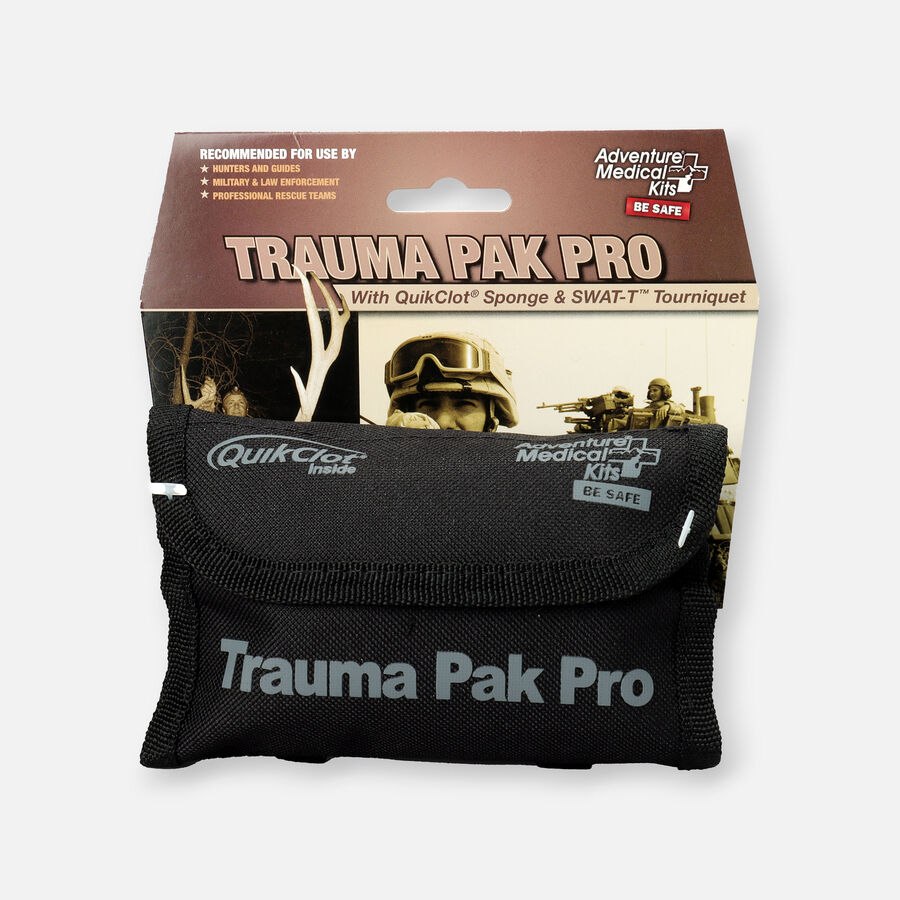Adventure Medical Trauma Pack Pro with Advanced Clotting Sponge & Swat-T, , large image number 0
