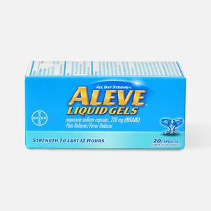 Aleve Liquid Gels Pain Reliever/Fever Reducer