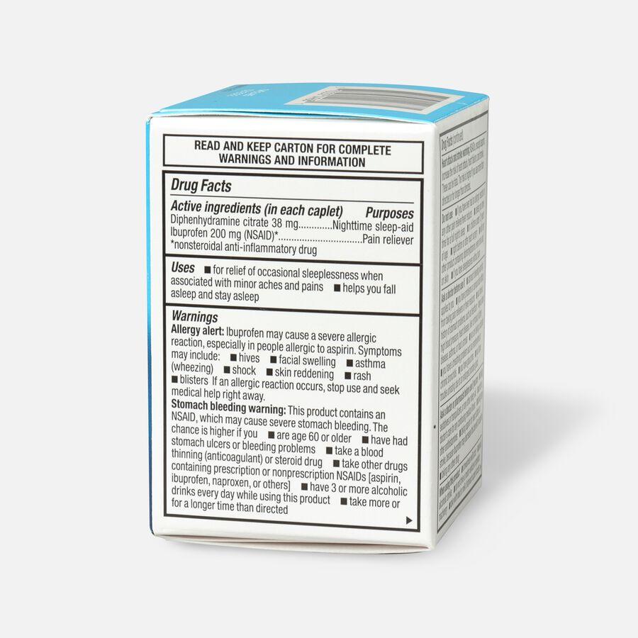 GoodSense® Ibuprofen PM 200 mg/38 mg Coated Caplets, 20 ct, , large image number 3