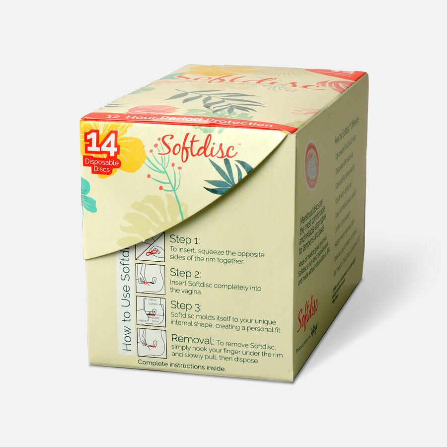 Softdisc Menstrual Discs, 14ct, , large image number 3