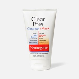 Neutrogena Clear Pore Cleanser / Mask, 4.2oz