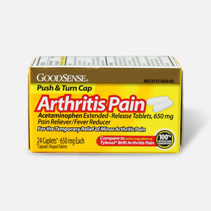 GoodSense® Arthritis Pain Relief 650 mg Extended Release Caplets