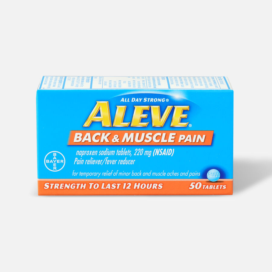 Aleve Back & Muscle Pain, 50ct, , large image number 0