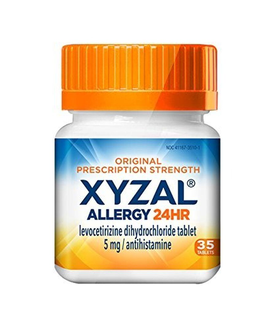 Xyzal Allergy 24 HR Tablets, 35 ct, , large image number 1
