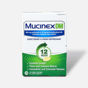 Mucinex Extended Release Bi-Layer Tablets, 20 ct
