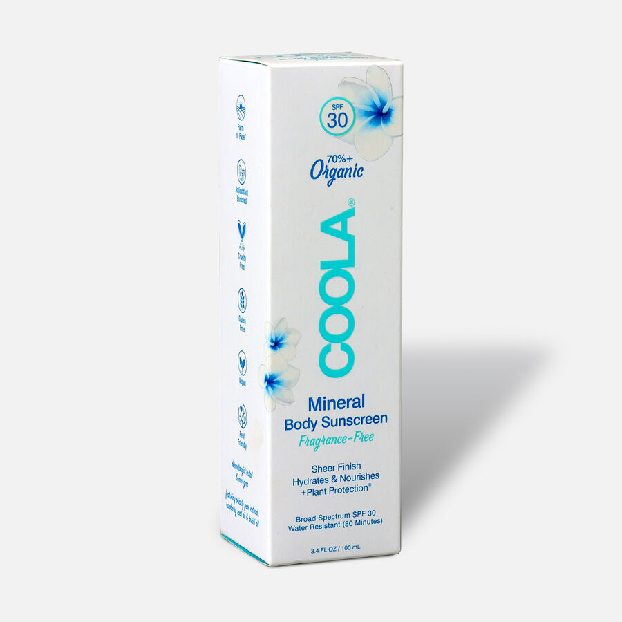Coola Mineral Body Organic Sunscreen Lotion SPF 30, Tropical Coconut - Travel Size, , large image number 3