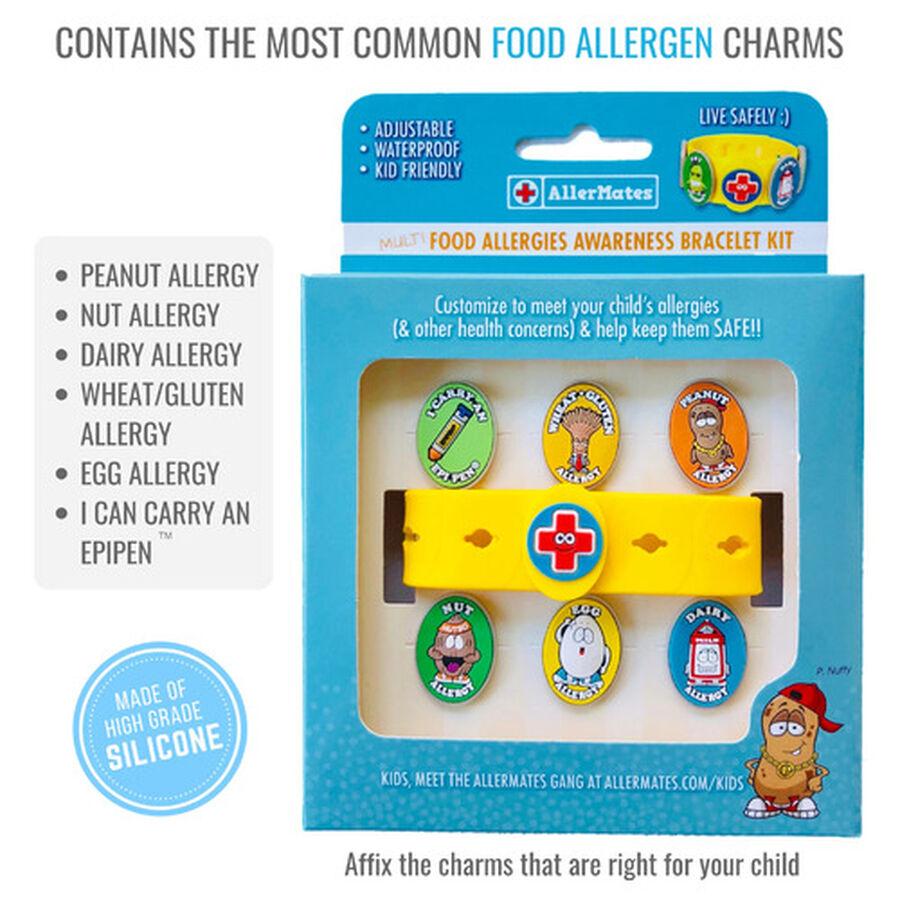 AllerMates Children's Allergy Charm Bracelet - Food Allergy, , large image number 3