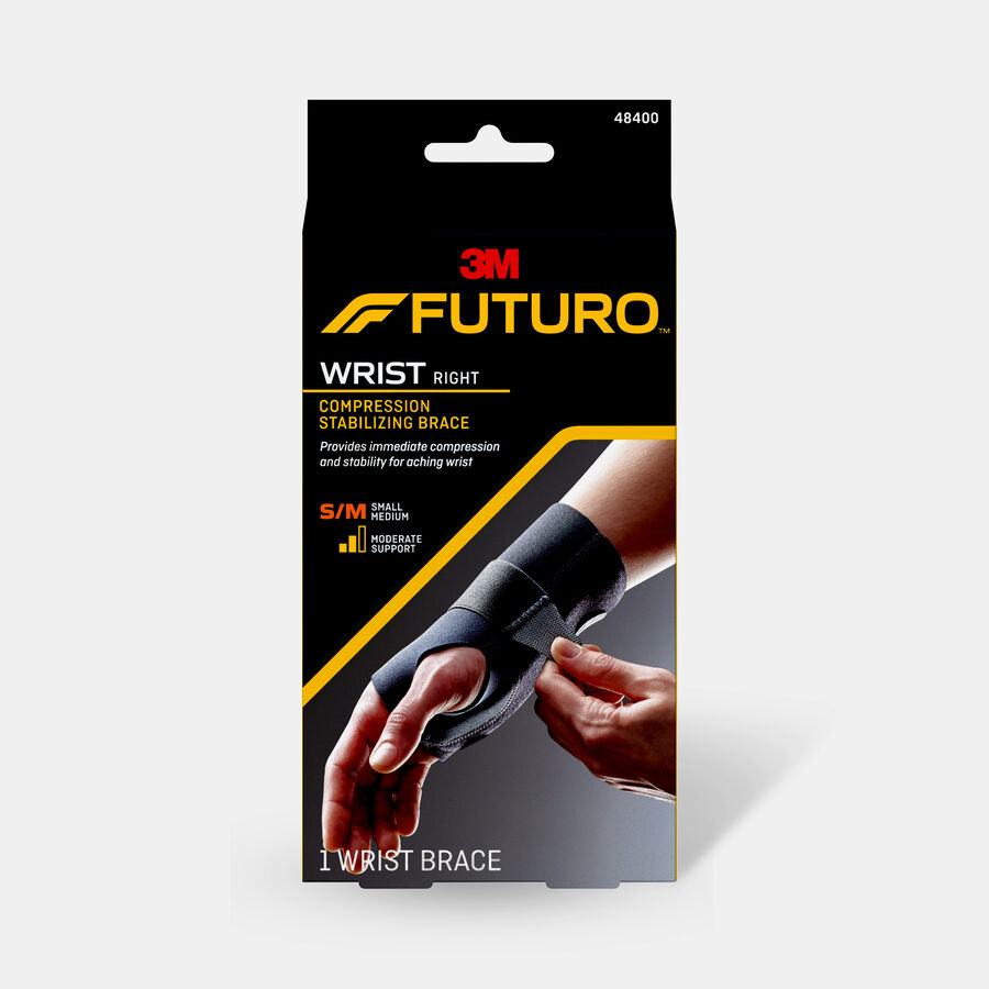 Futuro Energizing Wrist Support, Right, S/M, , large image number 0