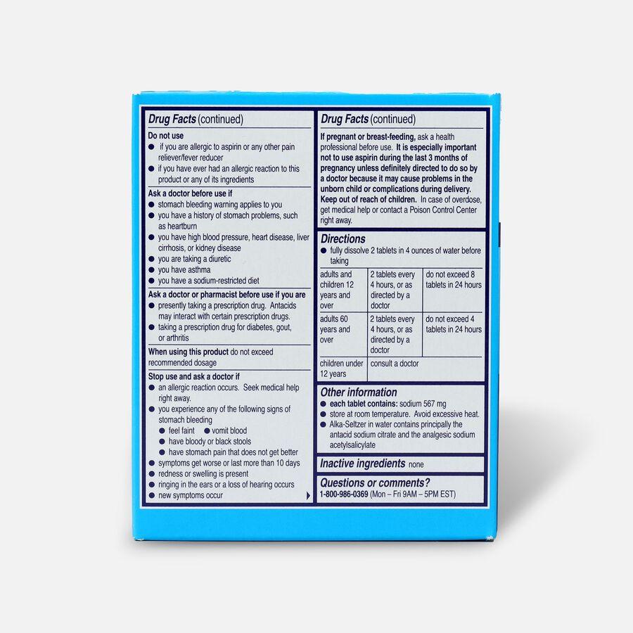 Alka-Seltzer Effervescent Tablets, 36 ea, Original, , large image number 1