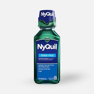 Vicks Nyquil Cold & Flu, Original, 12 oz