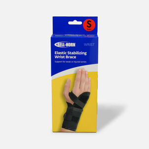 Bell-Horn Elastic Stabilizing Wrist Brace, Right, Small