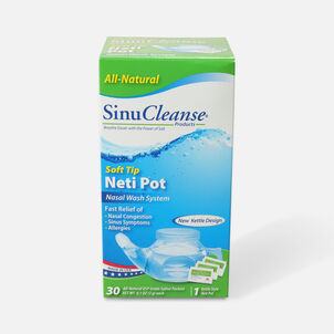 SinuCleanse Neti Pot All Natural Nasal Wash System, 1 ea