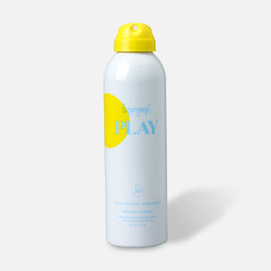 Supergoop! PLAY 100% Mineral Body Mist SPF 50 with Green Tea Extract, 6oz.