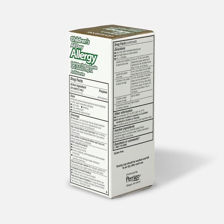 GoodSense® Child All Day Allergy Cetirizine 24-Hr Grape Flavor 4 fl oz, , large image number 3