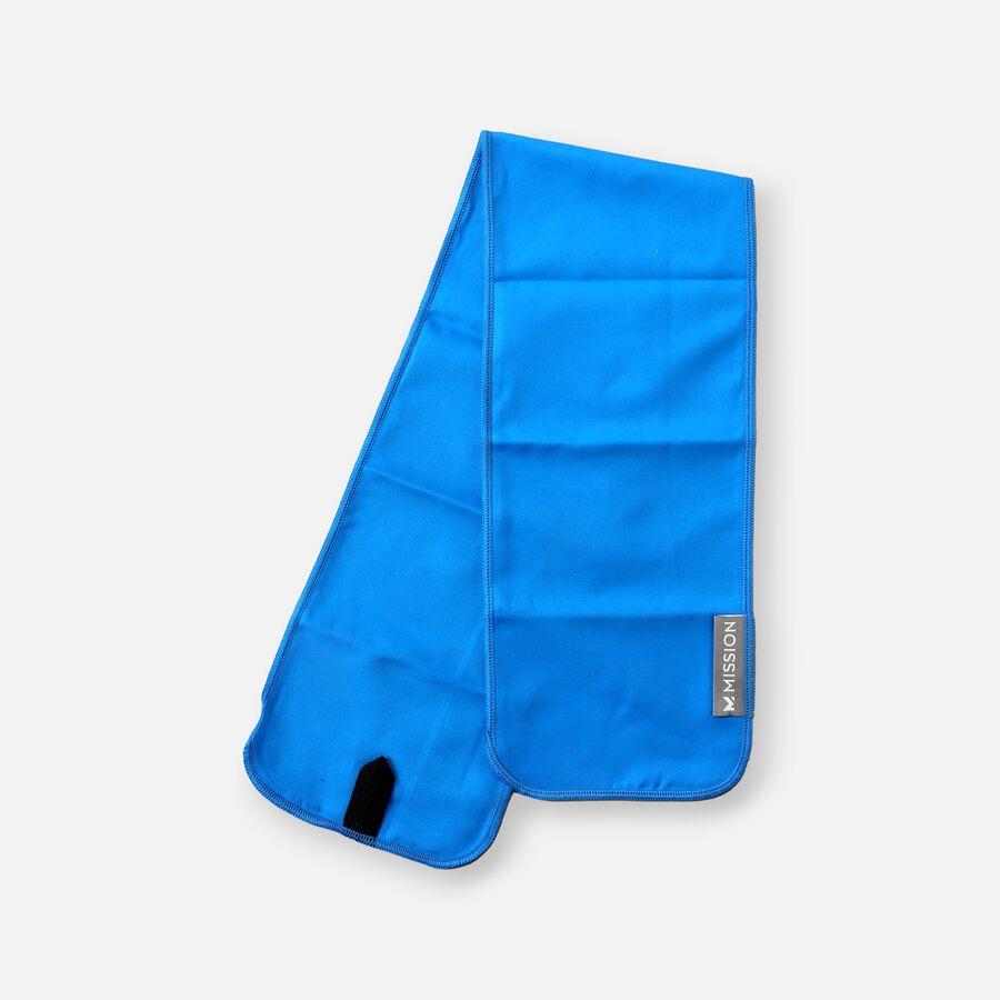 Mission Fever Relief Cooling Towel, Electric Blue Lemonade, , large image number 2