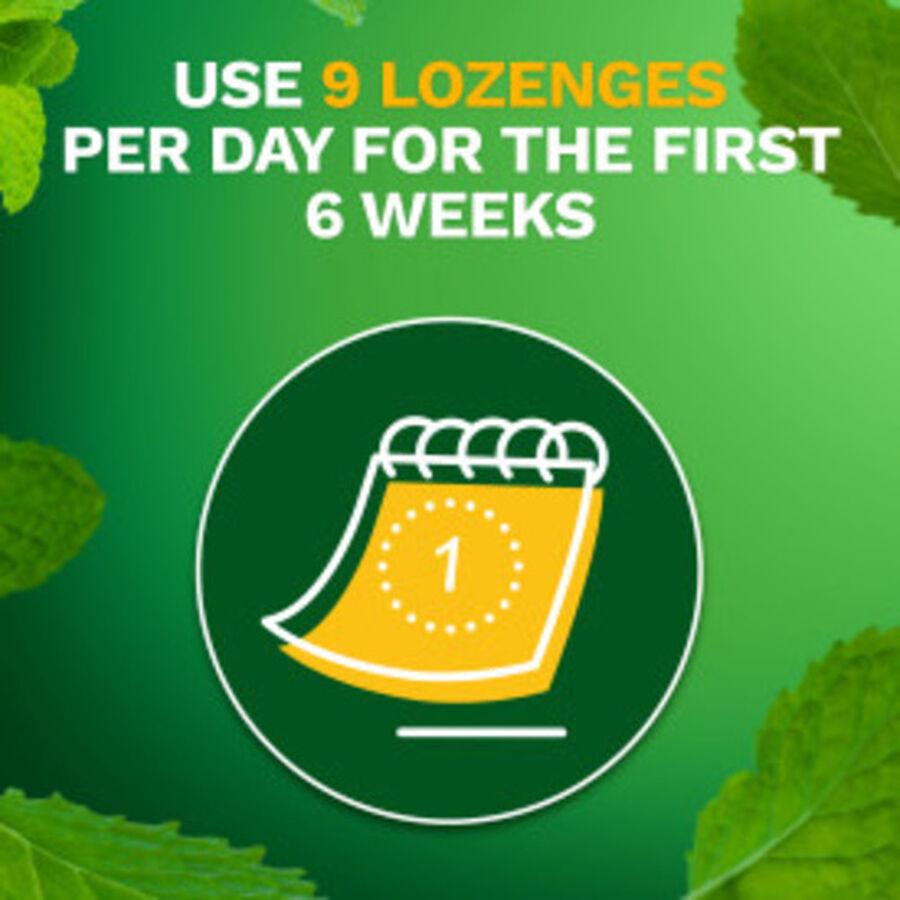 Nicorette Nicotine Lozenges, Mint, 4mg, 81 ct, , large image number 2