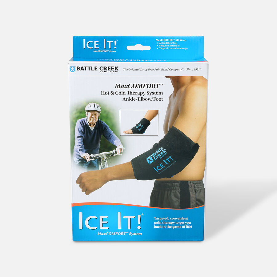 "Battle Creek Ice It! ColdCOMFORT Ankle/Elbow/Foot System 10.5"" x 13"", , large image number 0"