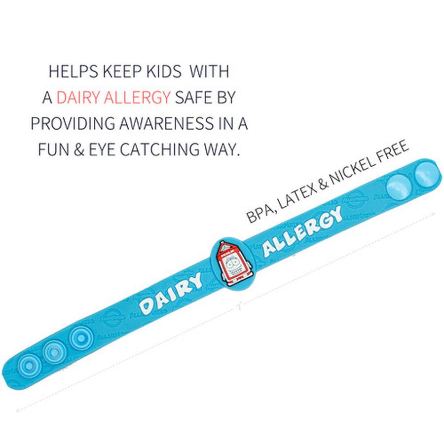 AllerMates Children's Allergy Alert Bracelet - Dairy, , large image number 1