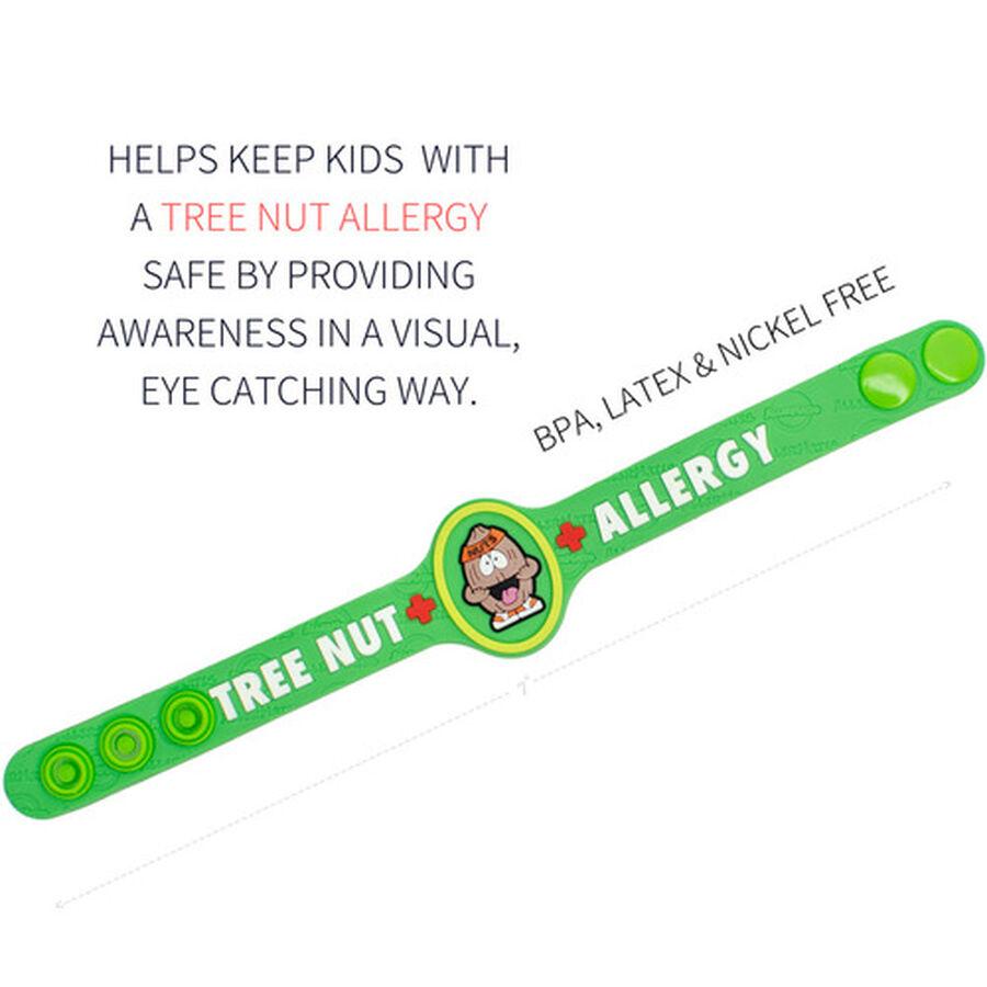 AllerMates Children's Allergy Alert Bracelet - Tree Nut, , large image number 1