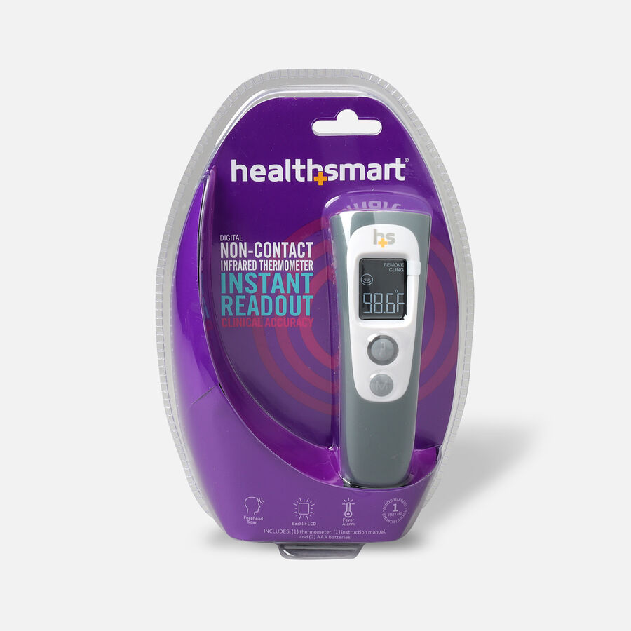 Health Smart Non-Contact Digital Forehead Thermometer, , large image number 0