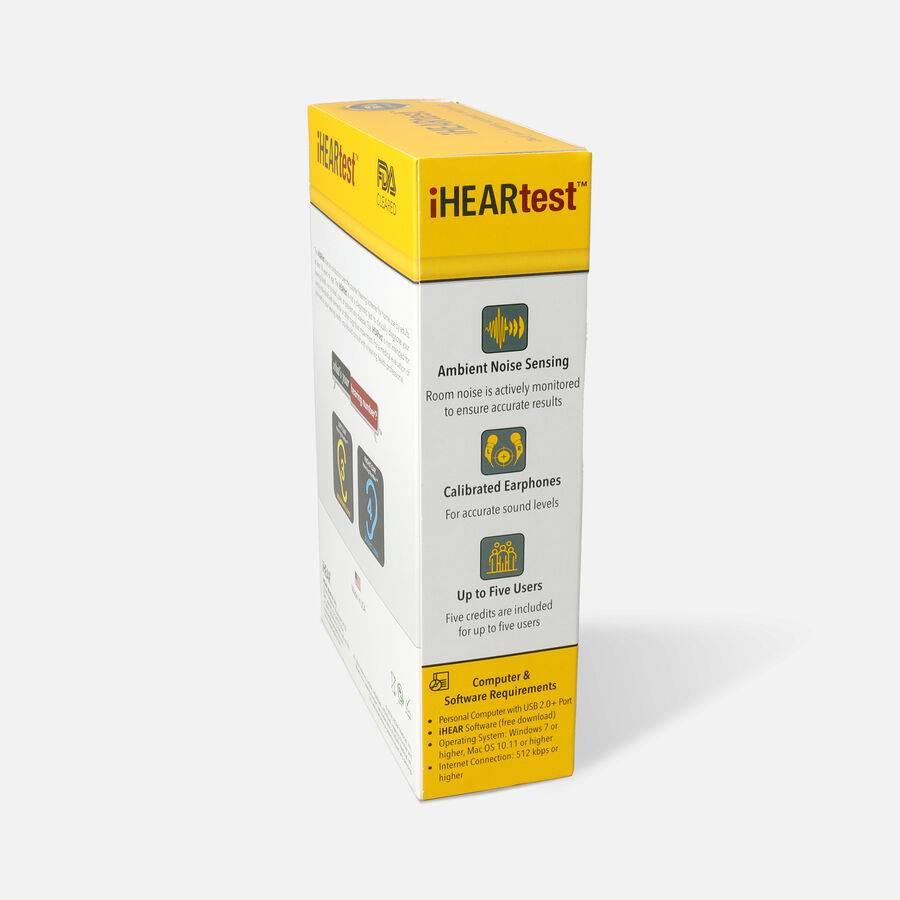 iHear Home Hearing Test Kit, , large image number 2