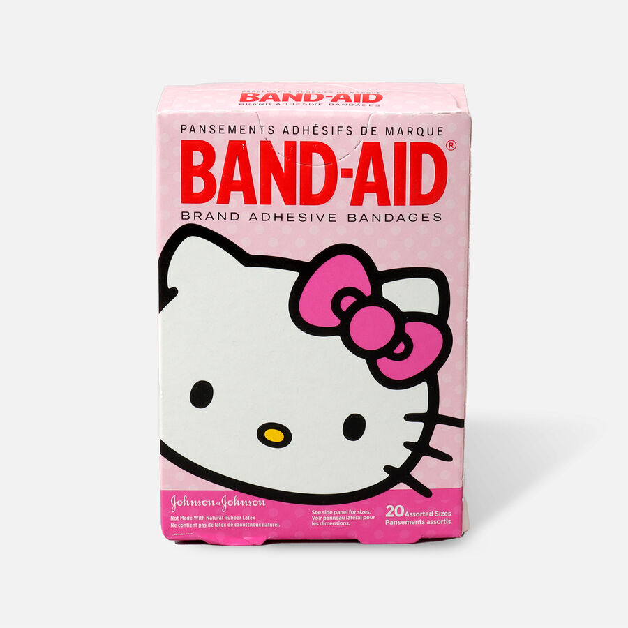 Band-Aid Children's Adhesive Bandages Hello Kitty Assorted, 20 ea, , large image number 0