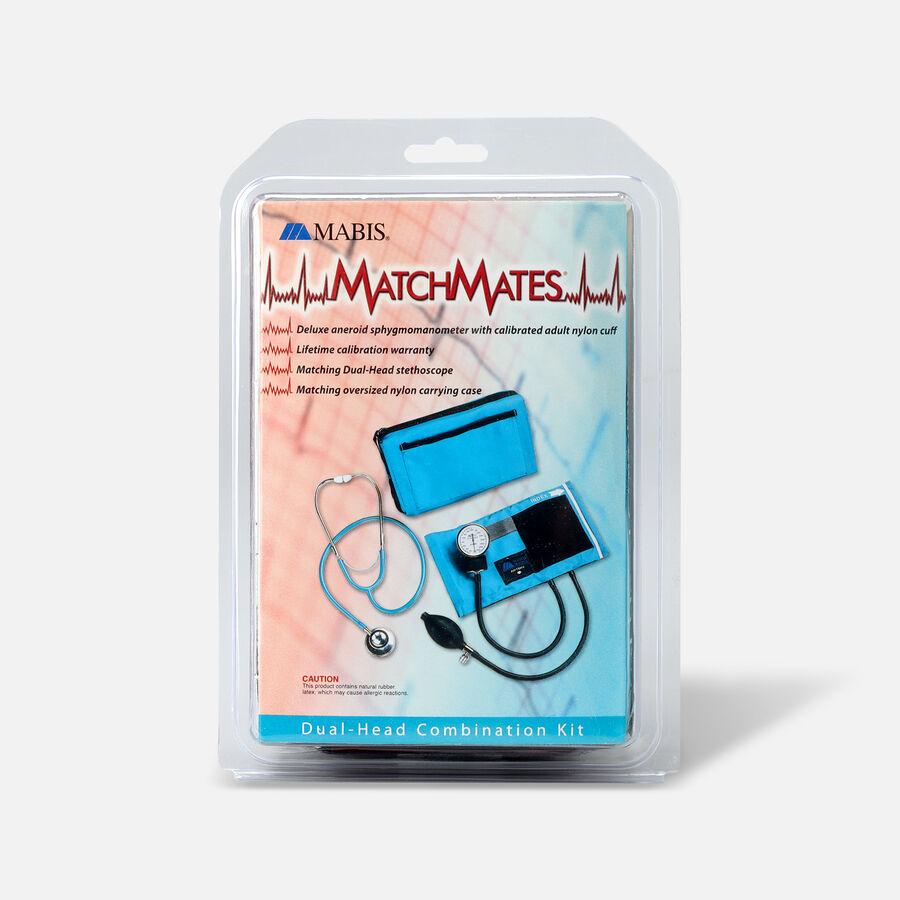 MatchMates Dual Head Stethoscope Combination Kit, Burgundy, , large image number 1