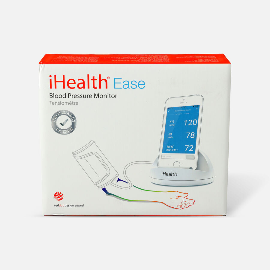 iHealth Ease Blood Pressure Monitor, X-Large Cuff, , large image number 0