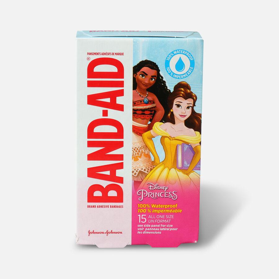 Band-Aid Disney Princess Waterproof Bandages - 15ct, , large image number 2