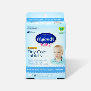 Hyland's Baby Tiny Cold Tablets, 125 ct
