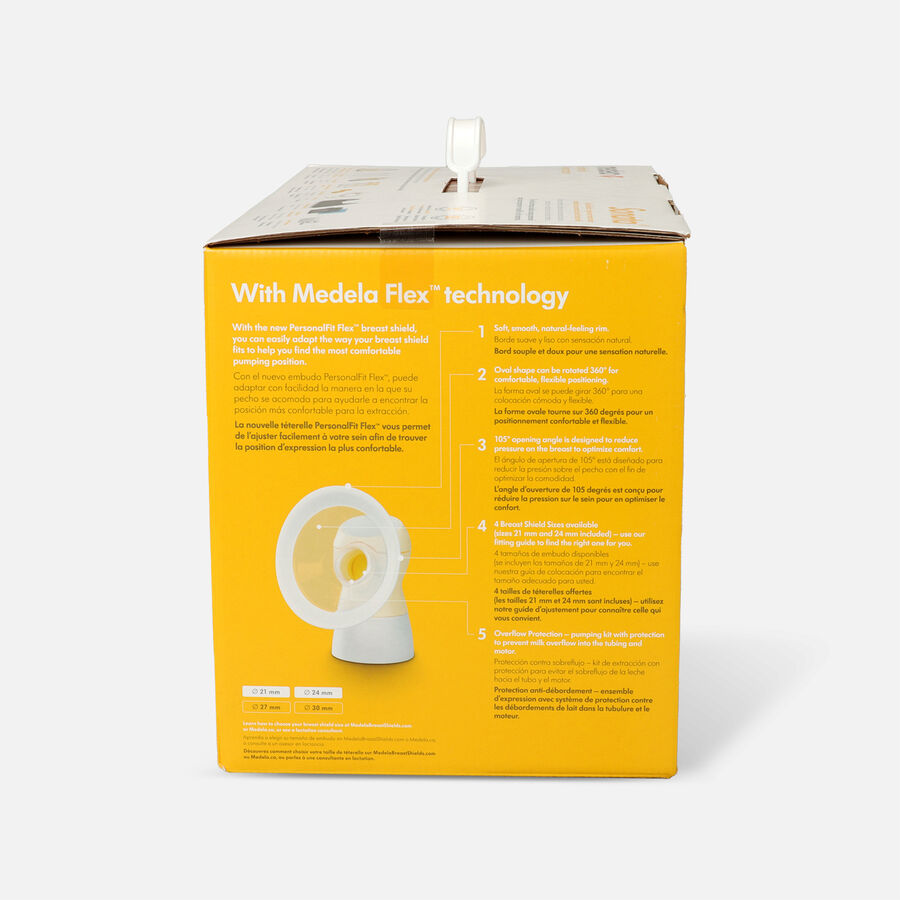 Medela Sonata Smart Breast Pump with Breast Shields, , large image number 5