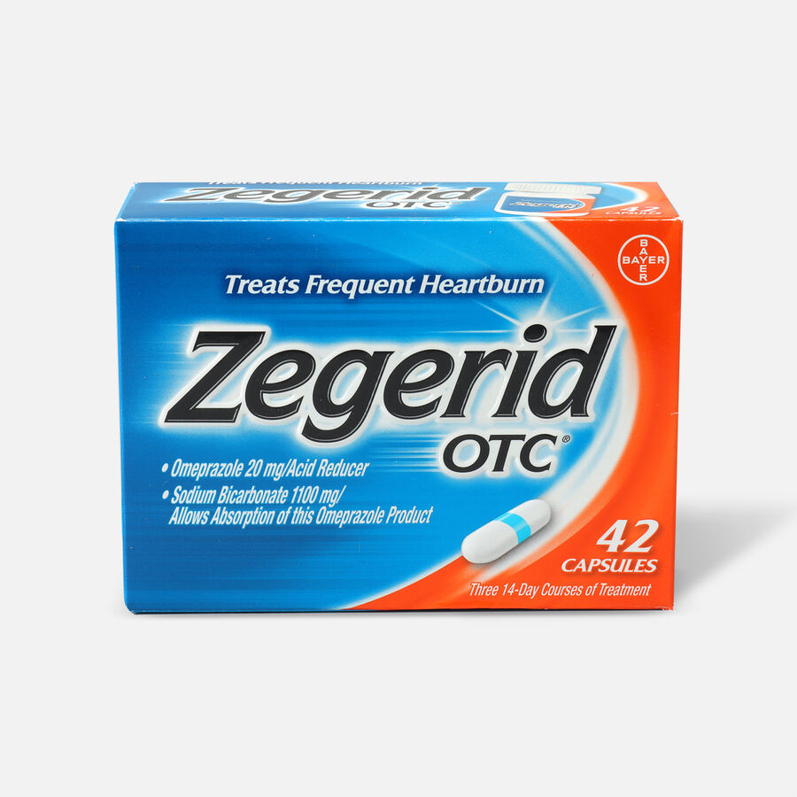 Zegerid OTC Heartburn Relief Capsules, 42 ct, , large image number 0
