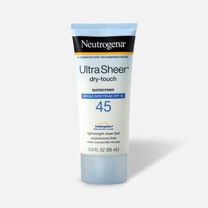 Neutrogena Ultra Sheer Dry-Touch Sunscreen, 3 oz