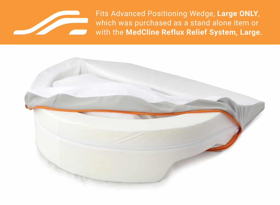 MedCline Advanced Positioning Wedge Cover, Medium, , large image number 2