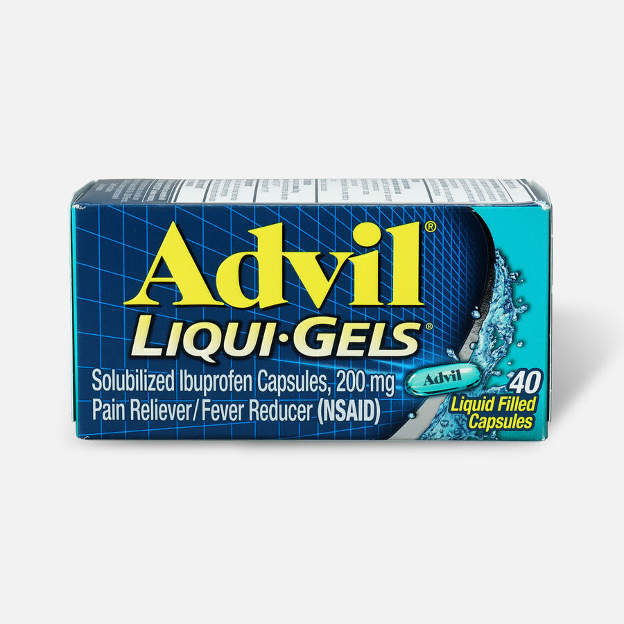 Advil Pain Reliever Fever Reducer Liqui-Gels, 40 ct, , large image number 0