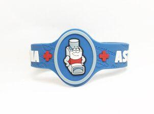 AllerMates Children's Allergy Alert Bracelet - Asthma