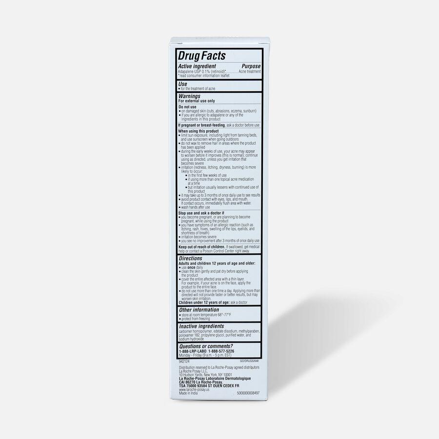 La Roche-Posay Effaclar Adapalene Gel 0.1%, Retinoid Acne Treatment, 1.6oz, , large image number 2