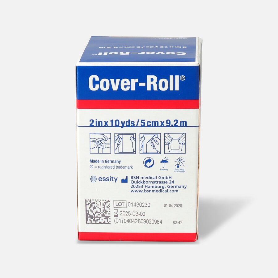 "Cover-Roll Stretch Non-Woven Adhesive Bandage 2"" x 10 yds., 1ct, , large image number 1"