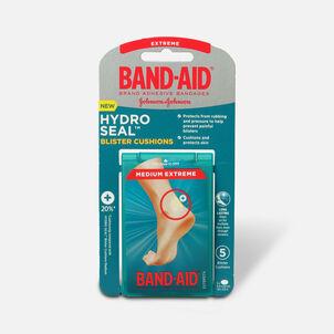 Band-Aid Hydro Seal Blister Cushion Bandages, Waterproof Adhesive Pads, Medium, 5 ct