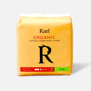 Rael Organic Cotton Cover Panty Liners - Long
