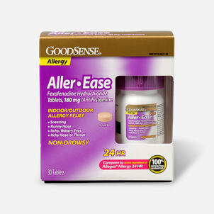 GoodSense® Aller-Ease 180 mg 24-Hour Non-Drowsy Tablets