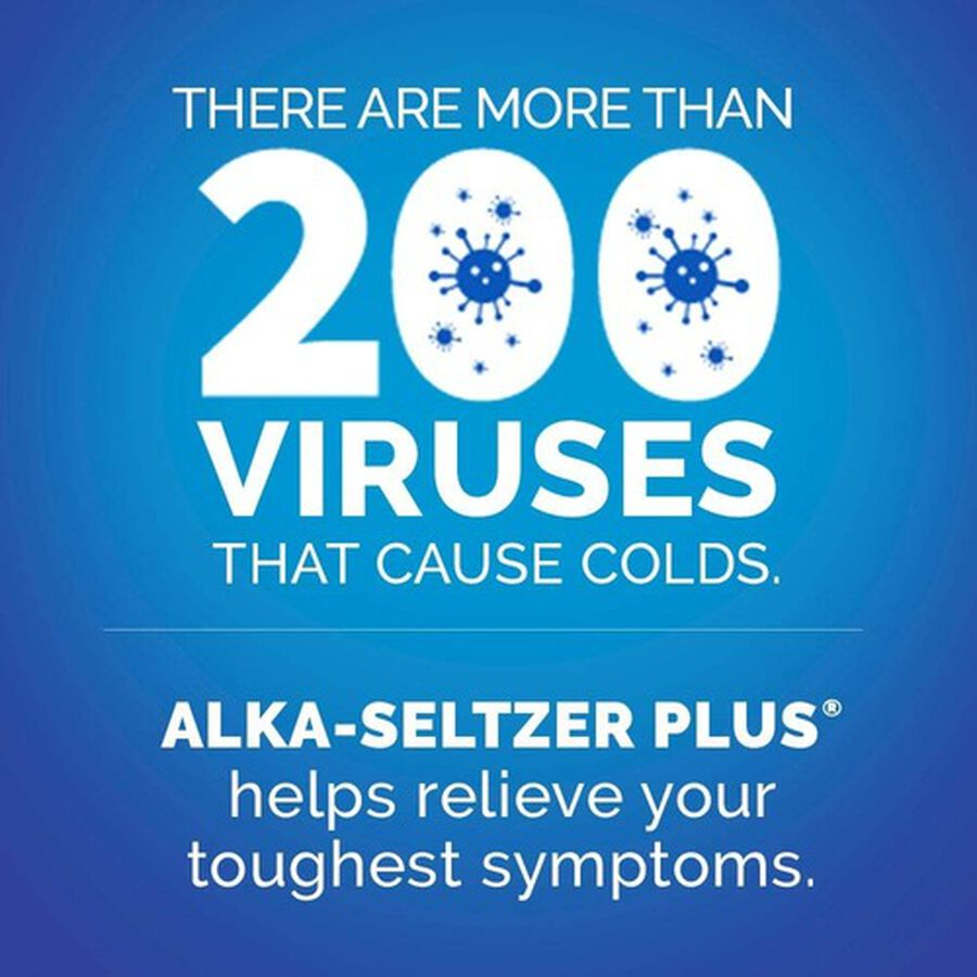 Alka-Seltzer Plus Cold & Cough PowerFast Fizz Effervescent Tablets, 20ct, , large image number 6