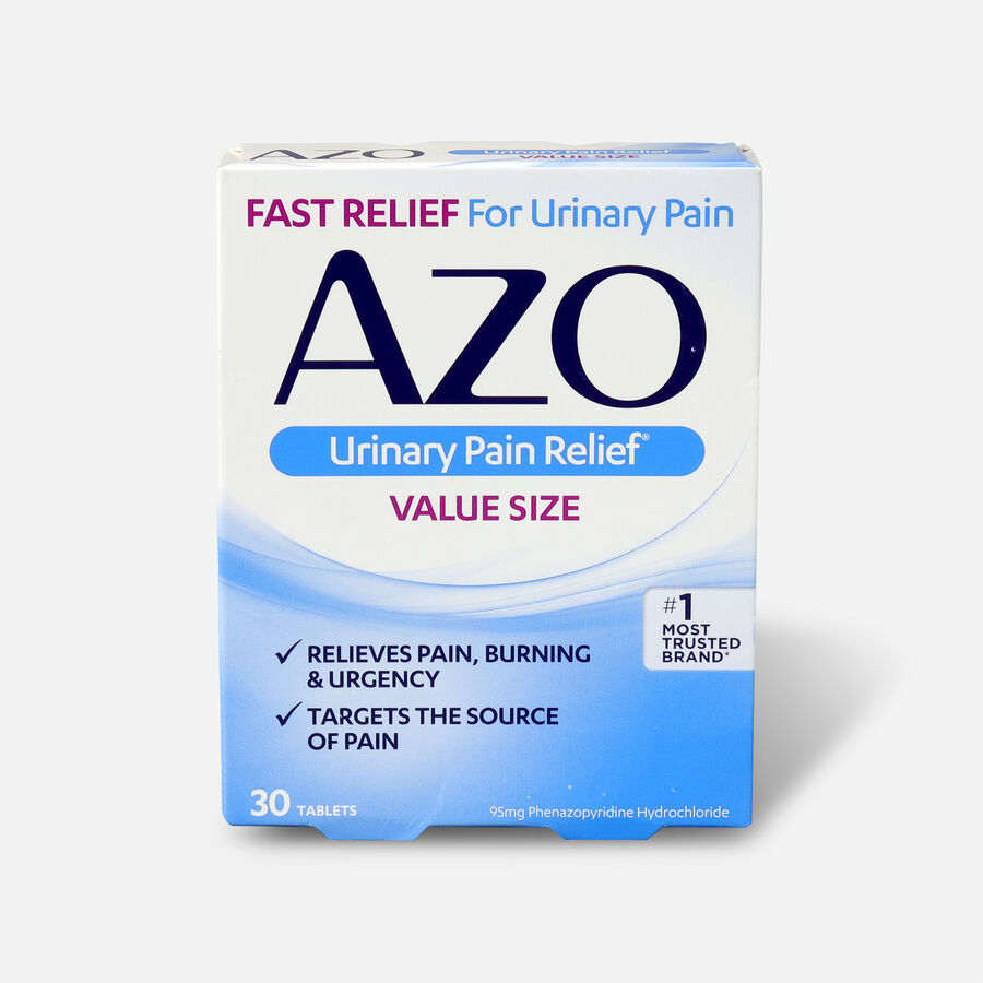 AZO Standard Urinary Pain Relief Tablets, 30 ea, , large image number 0
