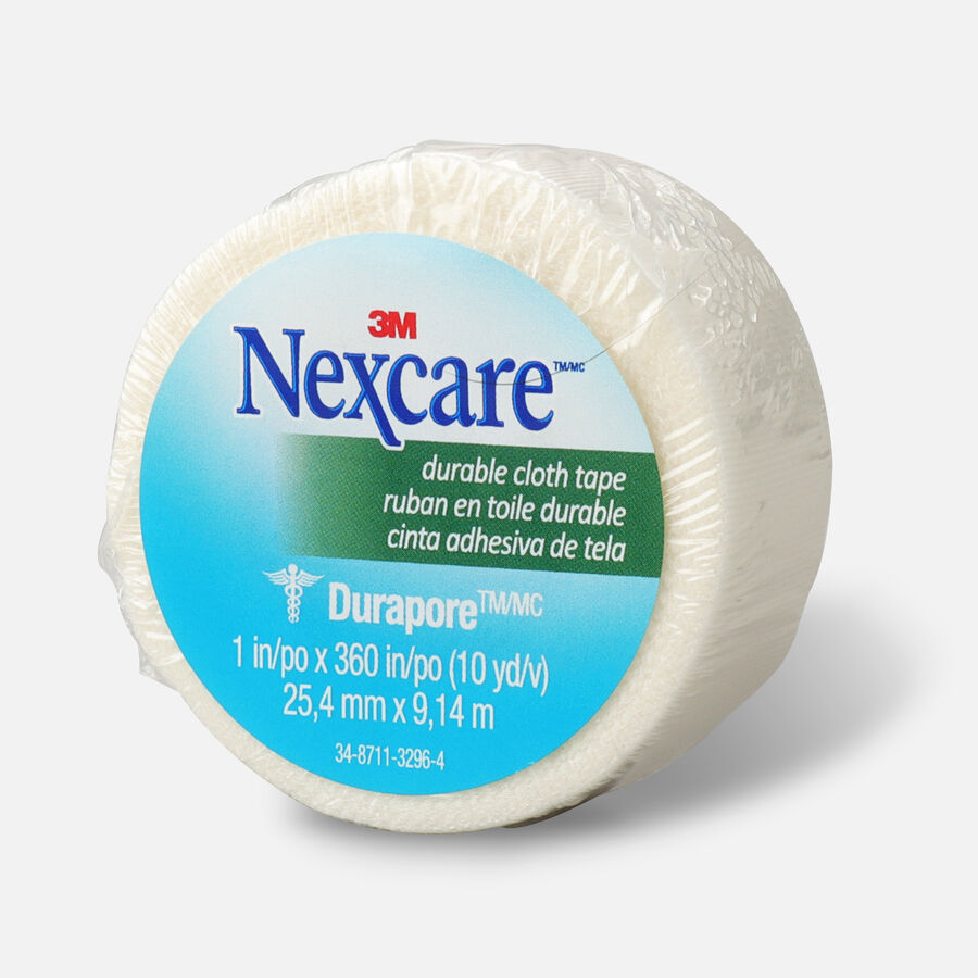 """Nexcare Durable Cloth Tape 1"""" x 10 yds. - 1ct, , large image number 2"""