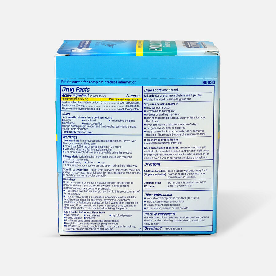 PhysiciansCare Cold and Cough, 250/Box, , large image number 1