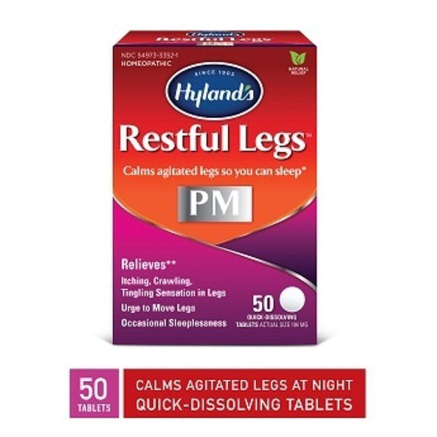 Hyland's Restful Legs, 50 ct, , large image number 0