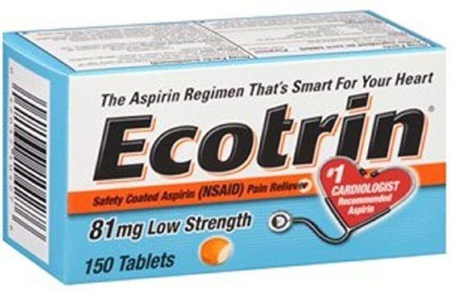 Ecotrin, Low Dose Aspirin, 150 ct., , large image number 0