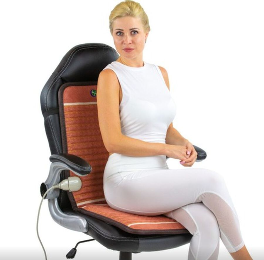 Healthyline TAO-Mat® Heating Pad for Chair, InfraMat Pro®, 4018 Firm, , large image number 6