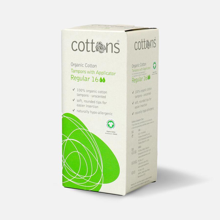 Cottons Applicator Tampons, Regular, 16ct, , large image number 2
