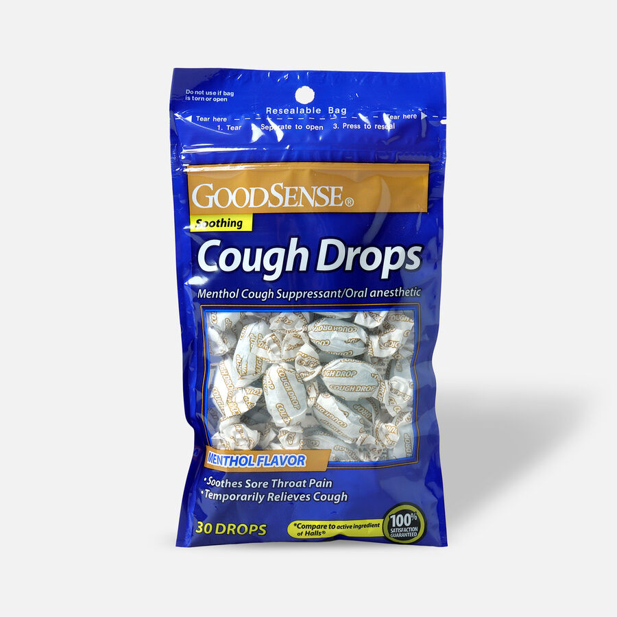 GoodSense® Cough Drops, Menthol Flavor, 30 ct , , large image number 0